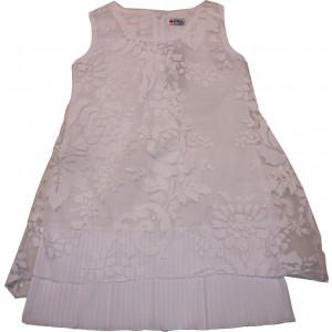 Φόρεμα Χ/Μ Δανδέλα (Άσπρο) (Κωδ.291.87.152)