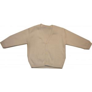Ζακέτα Πλεκτή (Άσπρο) (Κωδ.516.49.008)