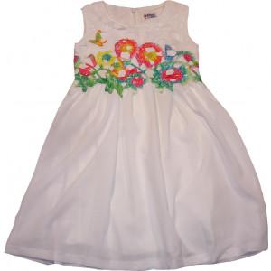 Φόρεμα X/Μ (Άσπρο) (Κωδ.291.87.358)