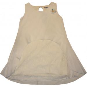 Φόρεμα X/Μ (Άσπρο) (Κωδ.291.87.355)