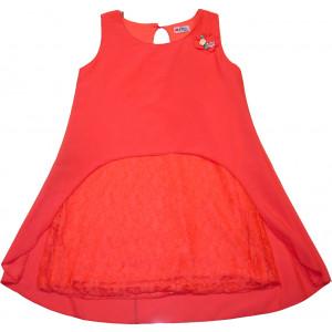 Φόρεμα X/Μ (Κοραλί) (Κωδ.291.87.355)