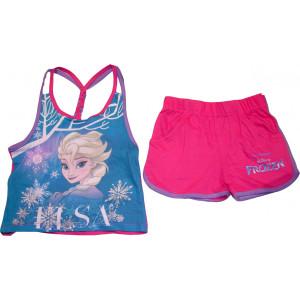 Μπλούζα & Σόρτσ (Μακώ) Frozen Disney (Φουξ) (Κωδ.200.60.001)
