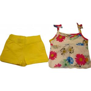 Μπλούζα & Σορτσ (Κίτρινο) (Κωδ.291.60.088)