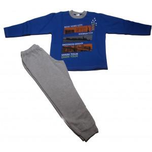 Φόρμα Φούτερ Παιδική (Ρουά Μπλε) (Κωδ.118.040.000+25)
