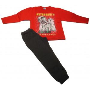 Φόρμα Φούτερ Παιδική (Κόκκινο) (Κωδ.118.040.011+10)