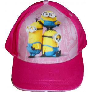 Καπέλο Jockey Minions (Φουξ) (Κωδ.200.511.008)
