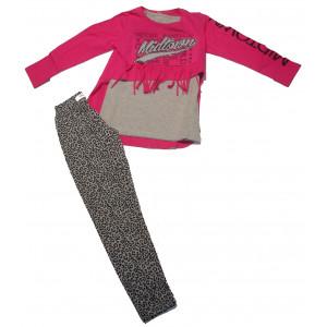 Σετ 2 Μπλούζες & Κολάν Παιδικό (Φουξ) (Κωδ.291.086.032+18)