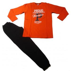 Φόρμα Φούτερ Παιδική (Πορτοκαλί) (#077.040.043+9#)
