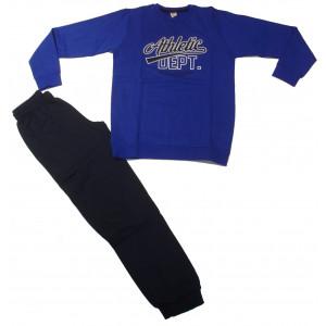 Φόρμα Φούτερ Παιδική (Ρουα Μπλε) (#077.040.041+25#)