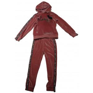 Φόρμα Βελουτέ Παιδικό (Ροζ) (#291.039.014+3#)