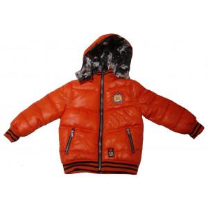 Μπουφάν Δυο Οψεων Παιδικό Μ-ΟΝΕ Πορτοκαλί  17590-005