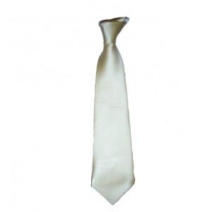 Γραβάτα σατέν Εκρού (Κωδ.202.01.022)