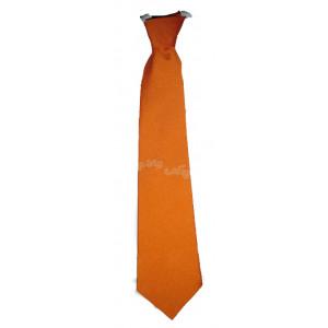 Γραβάτα σατέν Πορτοκαλί (Κωδ.202.01.022)