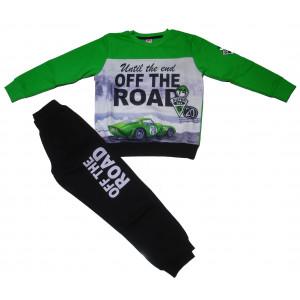 Φόρμα Φούτερ Παιδική (Πράσινο) (#077.040.036+8#)