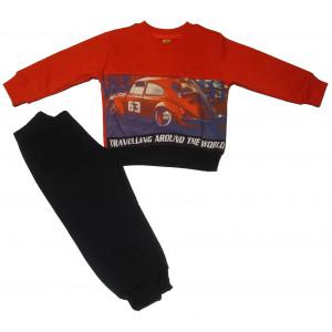 Φόρμα Φούτερ Μπεμπέ (Πορτοκαλί) (#077.040.039+9#)