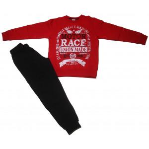 Φόρμα Φούτερ Παιδική (Κόκκινο) (#077.040.027+10#)