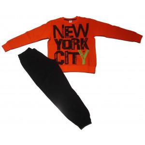Φόρμα Φούτερ παιδικό (Πορτοκαλί) (#077.040.023+9#)