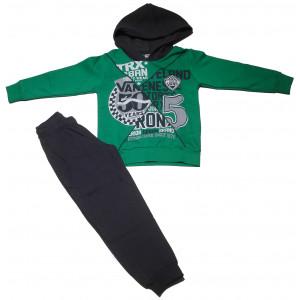 Φόρμα Φούτερ με κουκούλα (Πράσινο) (#077.040.022+8#)