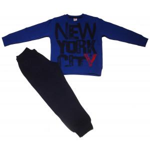 Φόρμα Φούτερ παιδική (Ρουα Μπλε) (#077.040.023+25#)