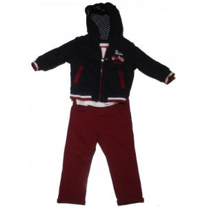 Ζακέτα - Μπλούζα - Παντελόνι (#077.041.004+1#)