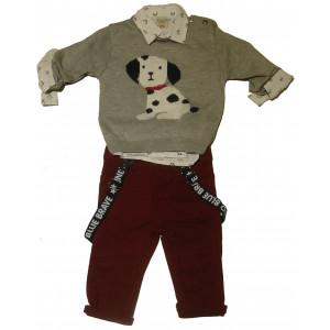 Μπλούζα - Πουκάμισο - Παντελόνι (#077.329.040+1#)