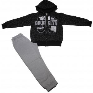 Φόρμα Ζακέτα Παιδική (Μαύρο) (#118.040.004+13#)