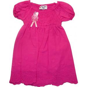 Φόρεμα Βρεφικό Κοντό Μανίκι Φουξ 291.130.042