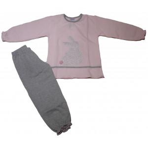 Πυζάμα Κουνελάκι Μπεμπέ (Ροζ) (#226.095.011+3#)