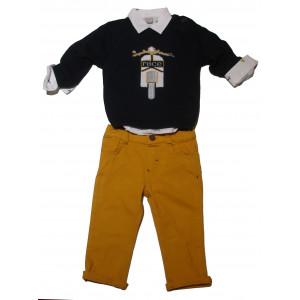Μπλούζα - Πουκάμισο - Παντελόνι Βρεφικό (#077.041.005+1#)