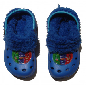 Παντόφλες Γούνα Πυζαμοήρωες (Ρουα Μπλε) (#200.349.020+25#)