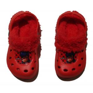 Παντόφλες Γούνα Ladybug (Κόκκινο) (#200.349.019+10#)