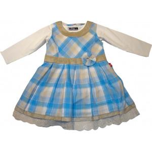 Φόρεμα & Μπλούζα (Σιέλ) (Κωδ.291.86.401)