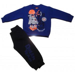 Φόρμα Φούτερ Μπεμπέ (Μπλε Ρουά) (077.040.017)