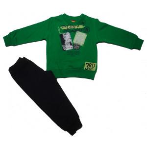 Φόρμα Φούτερ Μπεμπέ (Πράσινο) (077.040.015)