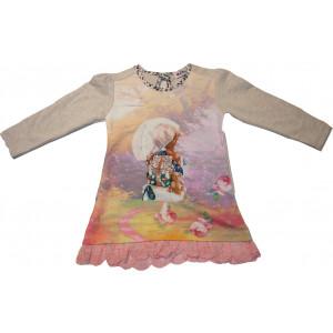 Φόρεμα Μ/M (Εκρού) (Κωδ.291.86.418)