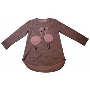 Μπλούζα Flamingo Παιδικό (Ροζ) (#291.018.004+3#)