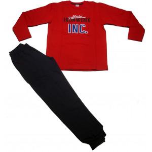 Φόρμα Φούτερ Παιδική (Κόκκινο) (#077.040.055+10#)