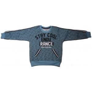 Μπλούζα Φούτερ Παιδικό (Σιελ) (#077.013.002+2#)