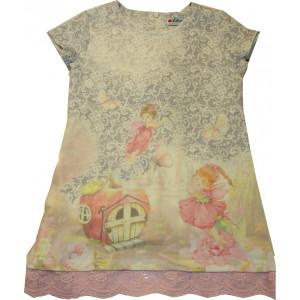 Φόρεμα Κ/M (Γκρι Ανοιχτό) (Κωδ.291.86.370)