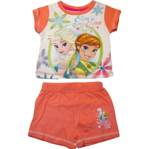 Μπλούζα & Σορτσ Frozen Disney (Σομόν) (Κωδ.200.60.002)