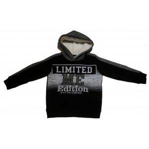 Μπλούζα Κουκούλα Παιδική (Μαύρο) (#077.013.001+13#)