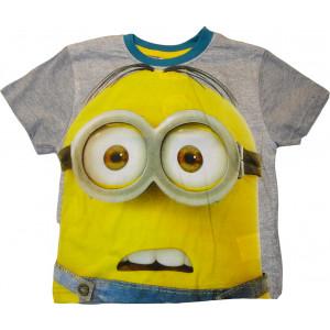 Μπλούζα Κ/Μ Παιδική Minions Disney (Γκρι Ανοιχτό) (Κωδ.200.10.024)