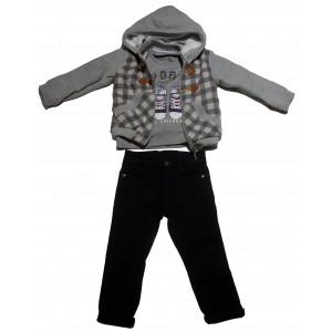 Ζακέτα - Μπλούζα - Παντελόνι (#077.041.031+1#)