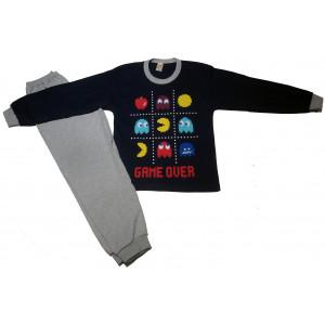 Πυζάμα Pacman (Μπλε) (#489.068.003+6#)