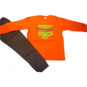 Φόρμα Φούτερ (Πορτοκαλί) (Κωδ.077.40.417)