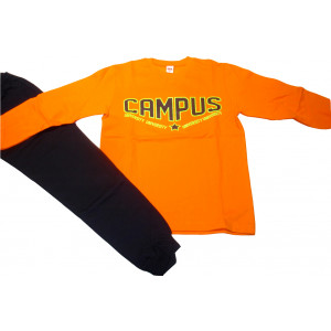 Φόρμα Φούτερ (Πορτοκαλί) (Κωδ.077.40.419)