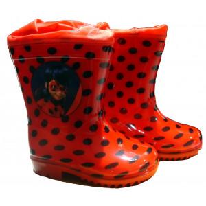 Γαλότσες Ladybug 61701 Μαύρο