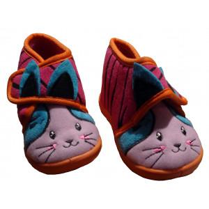 Παντόφλες - Μποτάκι Rabbit (Φουξ) (#701.349.000+18#)