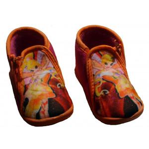 Παντόφλες - Μποτάκι Νεράιδα (Φουξ) (#701.349.001+18#)