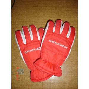 Γάντια Ολυμπιακός αδιάβροχα-ισοθερμικά (Κωδ.161.90.024)